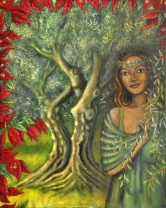 The Olive Tree Goddess