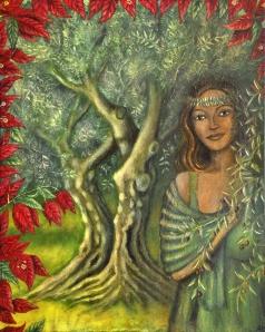 The Olive Tree Goddess