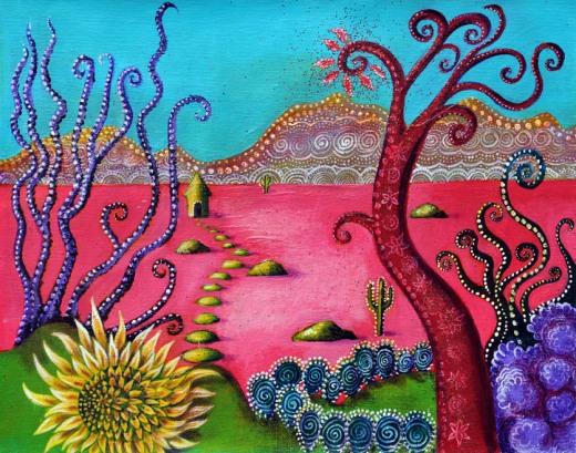 Alice Pink Desert