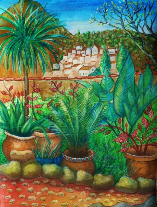 Garden in Gaucin