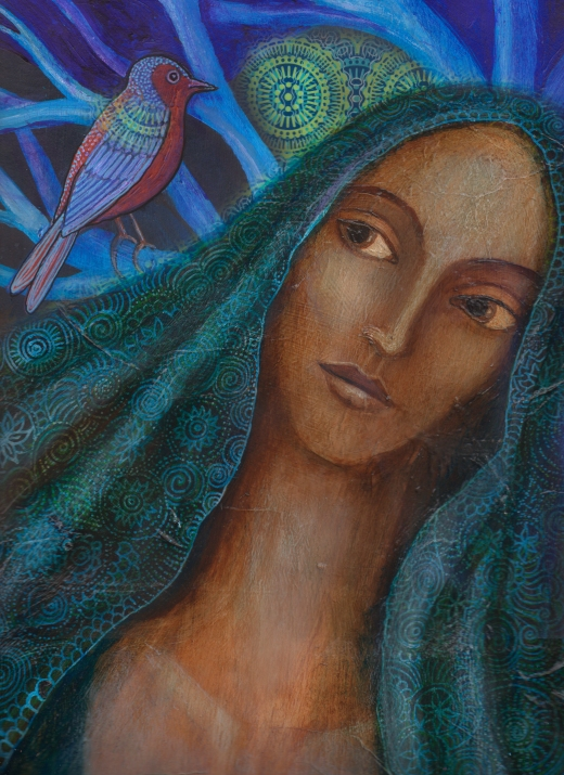 blue-veiled-madonna-and-bird