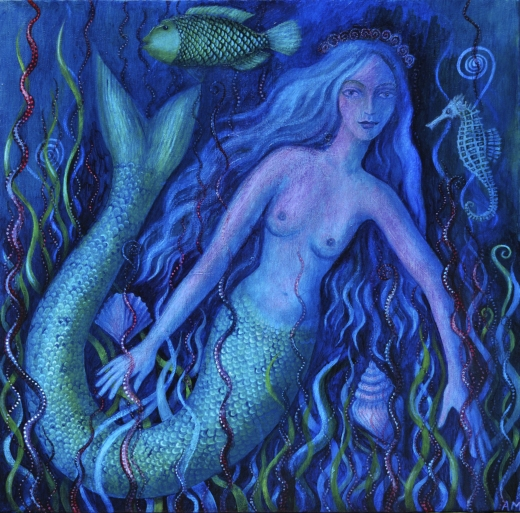 blue-mermaid