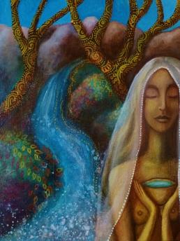 Nerthus Water Goddess