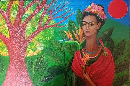 Frida and the Tree of Life